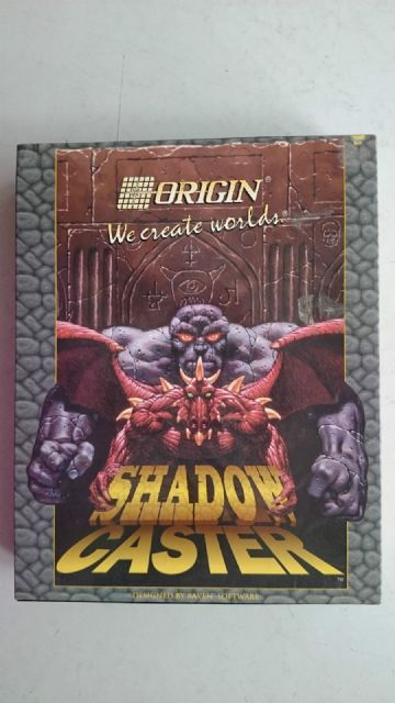 Shadow Caster  PC IBM 3.5 Disc Big Box Edition